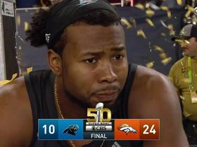 Watch: Panthers Josh Norman gets emotional at the end of the game