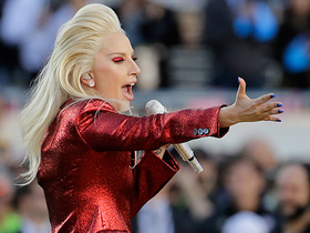 Watch: Lady Gaga sings the National Anthem