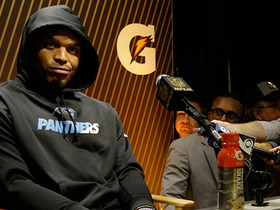 Watch: Surprised by Cam Newton's demeanor in postgame news conference?