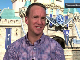 Watch: Peyton Manning goes to Disneyland