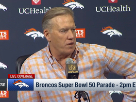 Watch: Elway: 'Our goal is to keep defense together'