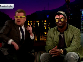 Watch: Super Bowl 50 MVP Von Miller and James Corden try out new looks