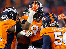 Watch: Top 10 Broncos defensive plays of 2015
