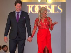 Watch: Texans strut down runway for charity