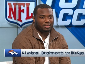 Watch: C.J. Anderson details conversation with Tom Brady after AFC Championship