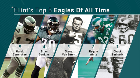 Top 5 Eagles of all time - NFL Videos