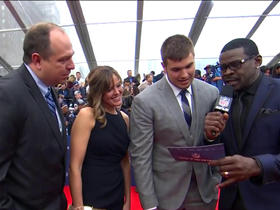 Watch: Former walk-on tackle Jack Conklin walks NFL Draft Red Carpet