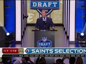 Watch: Saints pick Sheldon Rankins No.12