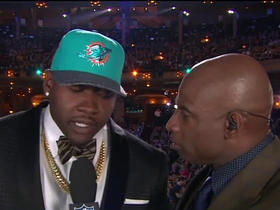 Watch: Laremy Tunsil: 'I'm just happy to be a part of the Miami Dolphins'