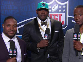 Watch: Tunsil: 'I'm very blessed just to be here'
