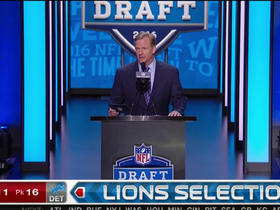 Watch: Lions pick Taylor Decker No. 16
