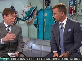 Watch: Casserly on Tunsil: 'Social media does you absolutely no good'