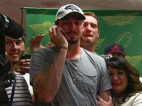 Watch: Paxton Lynch picks up call from Broncos