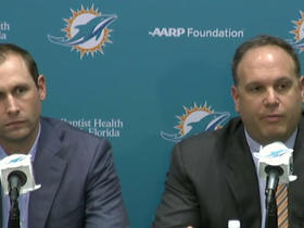 Watch: Tannenbaum: We felt drafting Tunsil was the right decision for the Dolphins