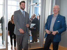 Watch: Behind the scenes: Taylor Decker Arrival