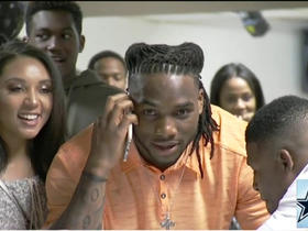 Watch: Jaylon Smith ecstatic after being picked by Cowboys