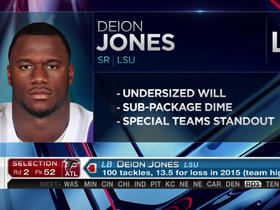 Watch: Falcons pick Deion Jones No. 52