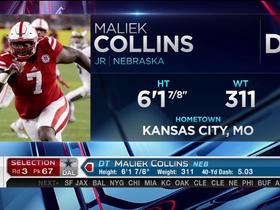Watch: Cowboys pick Maliek Collins No. 67