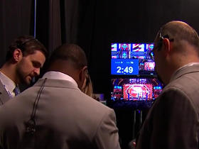 Watch: MJD heads backstage to help make the Jaguars pick