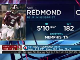 Watch: 49ers pick Will Redmond No. 68