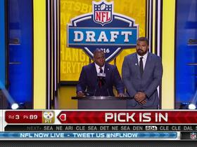 Watch: Steelers pick Javon Hargrave No. 89