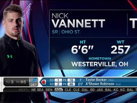 Watch: Seahawks pick Nick Vannett No. 94