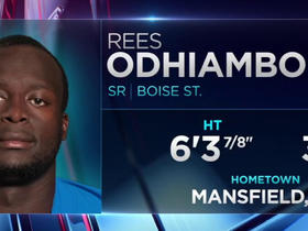 Watch: Seahawks pick Rees Odhiambo No. 97