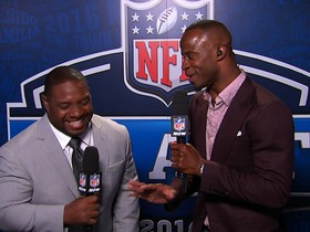 Watch: Ike and MJD bring out the best from NFL rookies