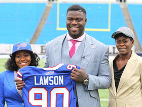 Watch: Draft Diary: Shaq Lawson arrives in Buffalo