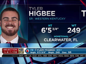 Watch: Rams select Tyler Higbee No. 110