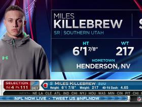 Watch: Lions pick Miles Killebrew No. 111