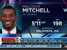 Watch: Patriots pick Malcolm Mitchell No. 112