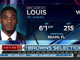 Watch: Browns pick Ricardo Louis No. 114
