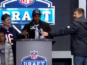 Watch: Bears fan announces No. 113 pick