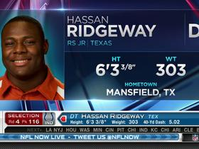 Watch: Colts pick Hassan Ridgeway No. 116