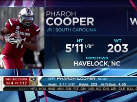 Watch: Rams pick Pharoh Cooper No. 117