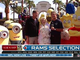 Watch: Rams fan announces No. 117 pick
