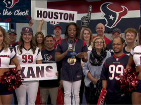 Watch: Texans fan announces No. 119 pick
