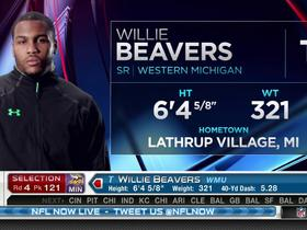 Watch: Vikings pick Willie Beavers No. 121