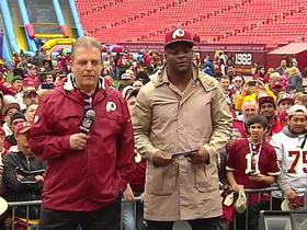 Watch: Clinton Portis announces pick No. 152
