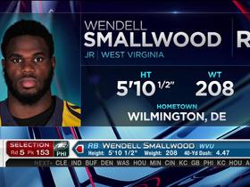 Watch: Eagles pick Wendell Smallwood No. 153