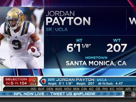 Watch: Browns pick Jordan Payton No. 154