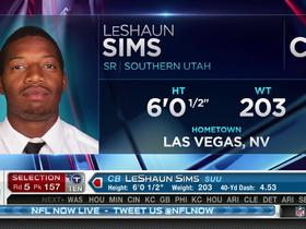 Watch: Titans pick LeShaun Sims No. 157