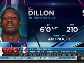 Watch: Texans pick KJ Dillon No. 159