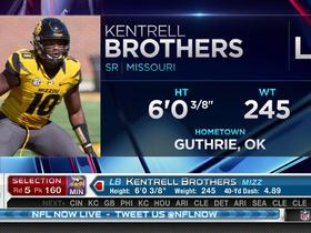 Watch: Vikings pick Kentrell Brothers No. 160