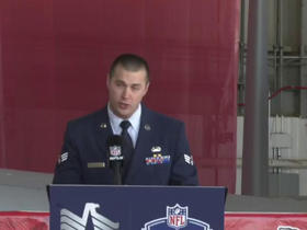 Watch: Sr. Airman Nathaniel Dampf announces pick No. 162