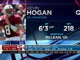 Watch: Chiefs pick Kevin Hogan No. 162