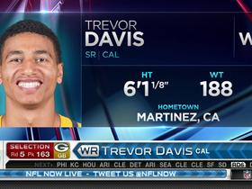 Watch: Packers pick Trevor Davis No. 163