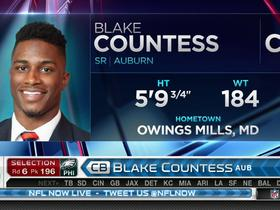 Watch: Eagles pick Blake Countess No. 196