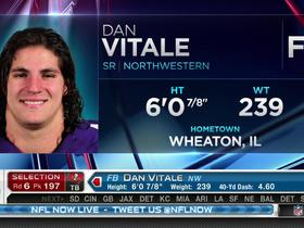 Watch: Buccaneers pick Dan Vitale No. 197